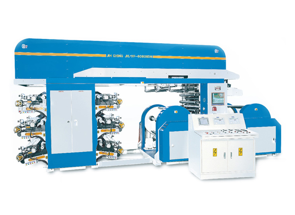 BDN Series – Doctor Blade type 6 COLORS FLEXOGRAPHIC PRINTING MACHINE (OFF-LINE)