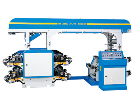 BN Series – Standard type 4 COLORS FLEXOGRAPHIC PRINTING MACHINE