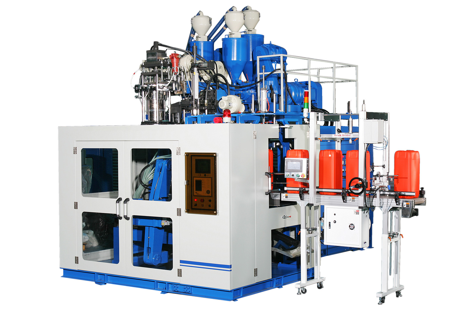Continuous Extrusion Type Plastic Blow Molding Machine