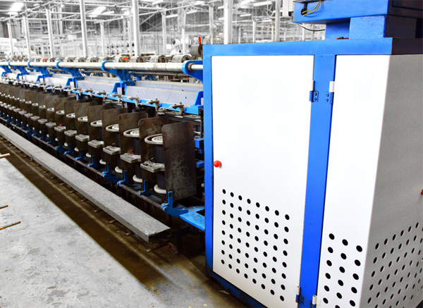 High Speed Ring Twisting Machine