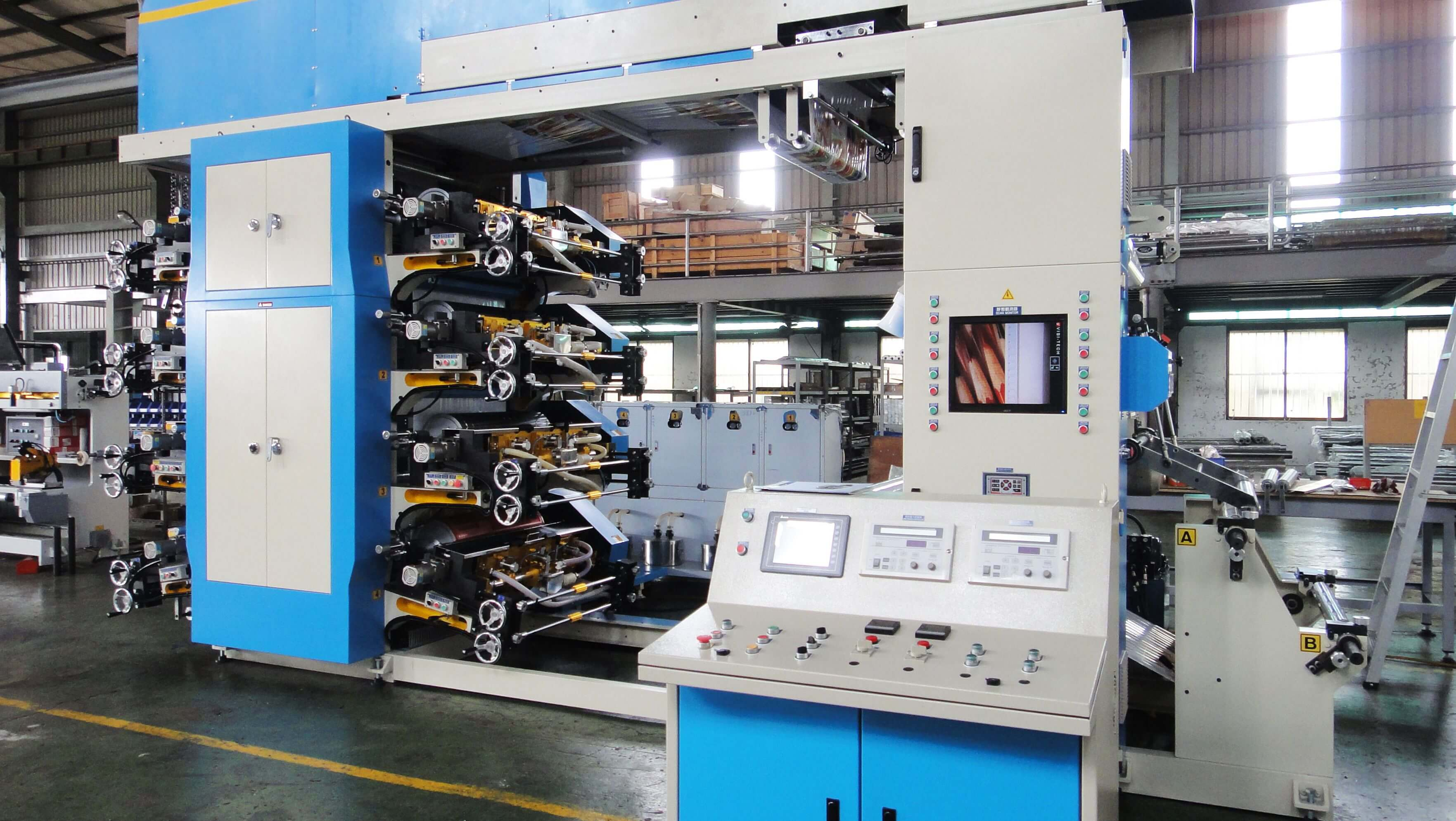 JH/FF-8080BDN 8 Color Flexo Printing Machine